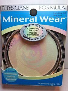Physicians Formula Mineral Wear Talc Free Correcting Powder 7038 Creamy Natural