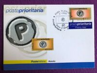 """2004 Cartolina Filatelica FDC""""Posta prioritaria € 0,60 """" Annullo ROMA FILATELICO"""