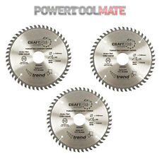 Genuine Trend CSB/16048 48 Tooth Blade for Festool TS55 R Plunge Saw - Pack of 3