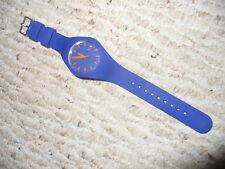 Used Blue Ice Silicone Watch by Jonas Ette, Tim Prigge & Simon Kox