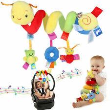 Toy Ringing Bell Kid Baby Crib Cot Pram Hanging Rattles Spiral Stroller&Car Seat