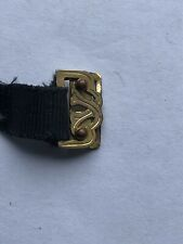Antique Moire Band Ribbon Watch Strap Clasp
