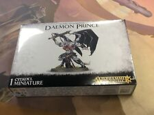 40K Warhammer AOS Daemon Prince NIB Sealed Slaves to Darkness