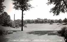 RPPC,Sheboygan,Wisconsin,Vollrath Park Bowl,L.L.Cook Photo,c.1945-50s