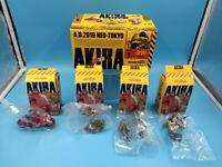 neuf mini figurine AKIRA PART 1 MINIQ DISPLAY 4 figurines complet serie 1