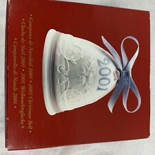 Lladro 2001 Porcelain Christmas Bell In Box Excellent Condition