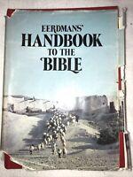 Vtg Eerdmans' Handbook to the Bible by Patricia & David Alexander 1973 Hardcover