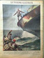 La Tribuna Illustrata 22 Marzo 1942 WW2 Solideo D'Incau Giava Maschere Cherubini