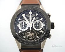 TAG Heuer 02 T COSC Tourbillon Boutique Edition Titanium CAR5A8Y.FT6072  $17,000
