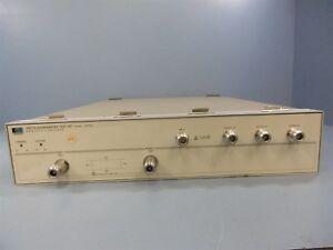 Hewlett Packard 35477A S-Parameter Test Set 10kHz – 100MHz