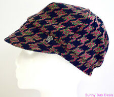 Christys Womens Hat Houndstooth Cloche Newsboy Vintage Style Cap Anthropologie M