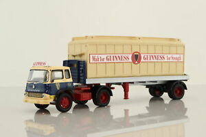 Corgi 22504; Bedford TK Artic Flatbed, Guinness Malt Container; V Good Unboxed