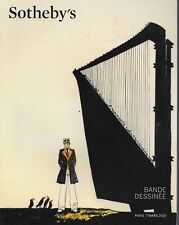 Sotheby's Bande Dessinee Comic Art Illustration Paris Auction Catalog March 2015