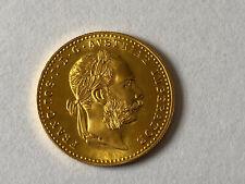 Goldmünze FRANC IOS I D G AVSTRIAE IMPERATOR 1915 Gold Münze Top Zustand