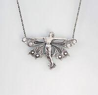 9901326 925er Silber Collier mit Swarovski-Steinen Fee