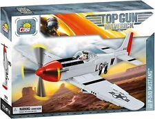 Playset Avion P-51d Mustang Top Gun Maverick COBI 5806 265 Pièces