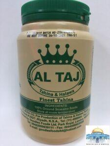 Al Taj Teeba Durra 100% Natural Tahini Tahina Ground Sesame Paste FREE P+P
