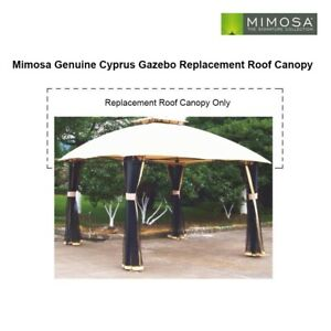 Genuine Replacement Roof Canopy for Mimosa Cyprus Gazebo - CANOPY ONLY