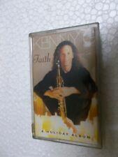 KENNY G FAITH A HOLIDAY ALBUM RARE orig CASSETTE TAPE INDIA