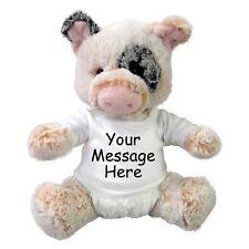 Personalized Stuffed Pig - 11 inch Aurora Plush Percy Pig