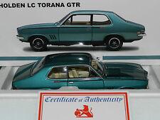 Biante 1/18 Holden Torana LC GTR  Taormina Aqua L/E MIB