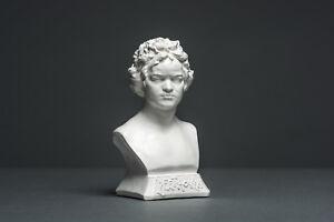 Beethoven Büste 12 cm, Skulptur, kein Gips, Dekoration, Deko, Kunst #010