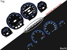 LETRONIX Plasma Tacho Tachoscheiben EL-Dash Opel Corsa B Tigra A 0-200Km/h #