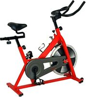 Sunny Fitness Indoor Cycling Cyle Training Low Impact Cardio Exercise Bike NEW
