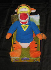 TIGGER  Plush Toy Winnie The Pooh & Friends BIG HUGS Mask 6m+ NOS Stuffed New