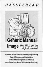 Hasselblad Proshade 6093T Instruction Manual MoreListed