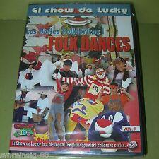 El Show de Lucky Vol. 3 LOS BAILES FOLKLORICOS Folk Dances DVD Colombia España