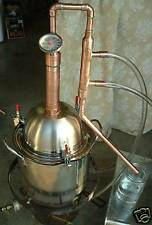Copper Alcohol Moonshine Ethanol Still E-85 Reflux 2 Gallon Stainless Boiler