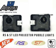 RJH FORD FOCUS MK2.5 & MK3 ST & RS LOGO PROJECTOR PUDDLE LIGHTS (4 Designs)
