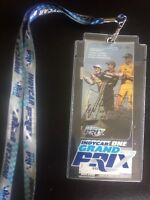 2018 Indycar Grand Prix Ticket AUTOGRAPHED by Winner Will Power w/ Lanyard
