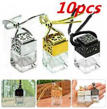 10x Mini Hanging Empty Car Perfume Bottle Fragrance Diffuser Air Freshner Decor
