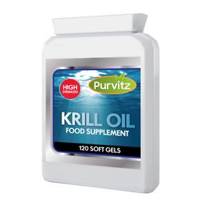 Superba Rosso Olio di Krill 500mg Super Forte 120 Capsule