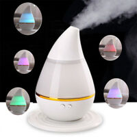 7Color LED Ultrasonic Aroma Humidifier Air Aromatherapy Essential Oil Diffuser Y