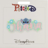 Disney Parks Patched Lilo & Stitch - Stitch Ohana Adhesive Patch