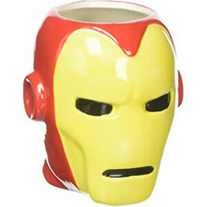 Zak Designs Marvel Iron Man Mask Sculpted Mug