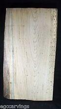Ash Live Edge Wood Slab, 13-1/2 x 24-1/2 x 2-3/8