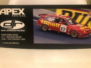 1:18 DJR Shell Sierra #17 Dick Johnson 1992 Bathurst 2nd Only 900 made.