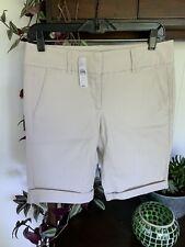 ANN TAYLOR LOFT Khaki Bermuda Shorts Size 2 NWT