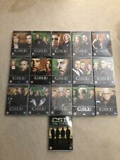 CSI LAS VEGAS COMPLETE SERIES 1-15 And Finale DVDs Very Good Condition