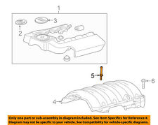 GM OEM Engine Appearance Cover-Shield Stud 11611691