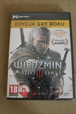 The Witcher 3 Wild Hunt  GOTY PC Game Brand New  WIEDŹMIN 3 DZIKI GON