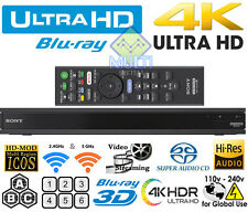 NEW 2017 UHD Sony UBP-X800 4k All Region Free DVD and Zone ABC Blu Ray Player