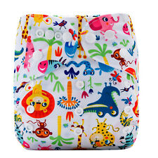 Pink Flamingos Junior XL Modern Cloth Nappy FREE Insert Baby Toddler upto 20kg