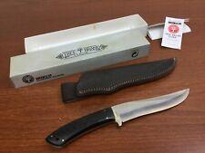 Boker Baumwerk Tree Brand drop point Hunting knife Bowie skinning  w/Sheath /Box