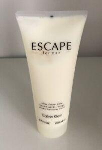 Calvin Klein ESCAPE After Shave Balm New Tester 6.7 oz / 200 ml Large Original!