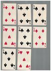 8 - C1937 Chesapeake And Ohio Lines Swap Playing Cards -  FIVES With Chessie